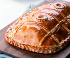 Ruský lososový koláč