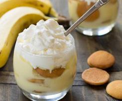 Banánový pudink z čerstvého ovoce