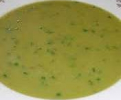 Pórkovo-smetanová polévka