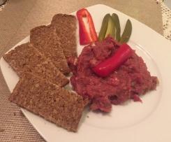 Tatarský biftek namíchaný