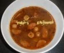 Pivní gulášová polévka