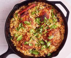 Kuře s rýží Bracarense