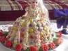 Ořechový dort panenka Barbie