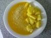 Omáčka z máslové dýně s parmazánem a bramborami