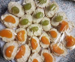 Česnekovo - sýrová pomazánka na jednohubky