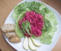 Letní salátek z červené řepy