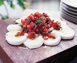 Mozarella s rajčaty