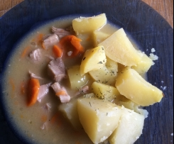 Krůtí maso s mrkví
