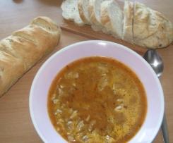 Polévka z hlívy (dršťková).