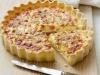 Francouzský slaný koláč (Quiche Lorraine)