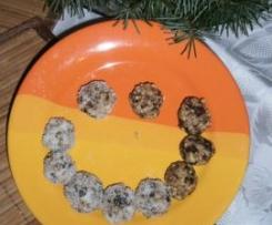Vánoční kuličky bez cukru