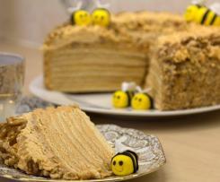 Medový dort z Pančeva-Srbsko
