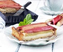 Rebarborový pie s ricottou