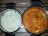 Prsní kuřecí maso se sladkokyselou omáčkou s rýží