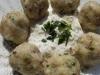 Chlupaté houbové knedlíky
