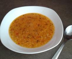 Turecká nevěstina polévka