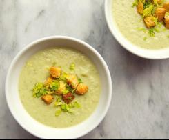 Cuketovo-zeleninová polévka