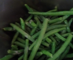 Dušené fazole na smetaně