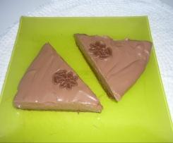Nepečený čokoládový dort