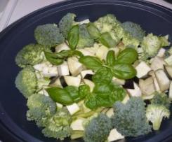Těstoviny s ústeckou klobásou a zeleninou