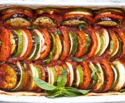 Francouzská míchaná zelenina (ratatouille)