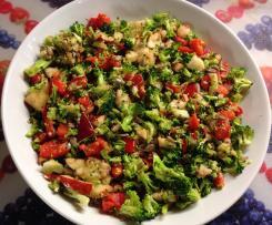 Zeleninový salát s jablkem