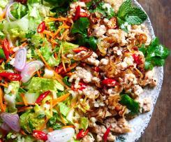 Laab gai, thajský kuřecí salát