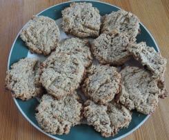 Kokosové sušenky z ovesných vloček