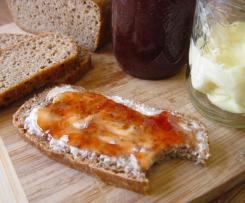 Třešňovo-banánová marmeláda