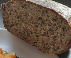 Špaldový chléb s tvarohem