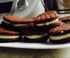 Sušenky s tvarohovou náplní