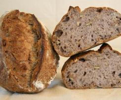 Medovo - ořechový chléb