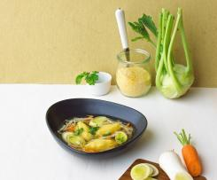 Zeleninová polévka se špaldou