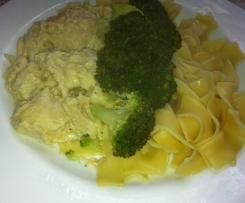 Krkonošský mls s brokolicí a těstovinami