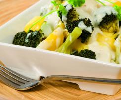 Brokolice s bramborem a sýrovou omáčkou