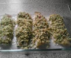 Treska v bylinkové krustě