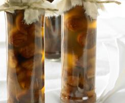 Kaštany ve vanilkovém sirupu