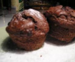 Božské čokoládové muffiny