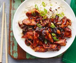 Kuřecí čína s rýži