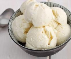 Vanilková zmrzlina z Francie