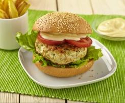 Zázvorové kuřecí burgery s limetkovou majonézou