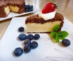 Špaldový tvarohový dort s mascarpone s příchutí agáve