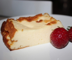 Pečený tvarohovo-jogurtový dezert