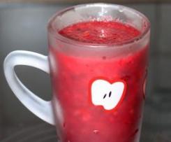 Zdravý koktejl s červenou řepou