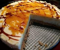 Pěnový citrónový koláč