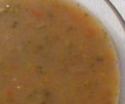 Čočková polévka - krémová