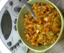 Jablko-mrkvový salát