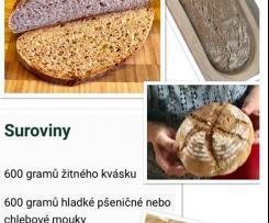Kefirový kváskový chleba