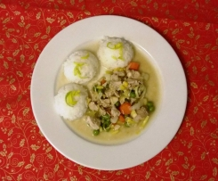 kuřecí nudličky na zelenině