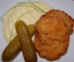 Vepřové medailonky v bramborovém těstíčku